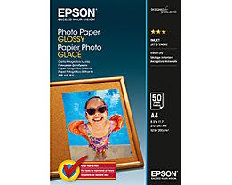 Epson Fotopapier  DIN A4 200g Glossy weiß  Bl./Pack.