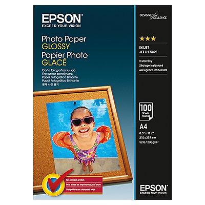 Epson Fotopapier C13S042539 DIN A4 200g Glossy weiß 50 Bl./Pack.