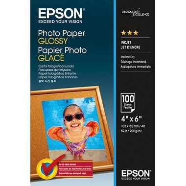 Epson Fotopapier  10x15cm 200g Glossy weiß  Bl./Pack.