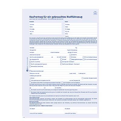 Avery Zweckform Kaufvertrag 2880 DIN A4 4x4Blatt