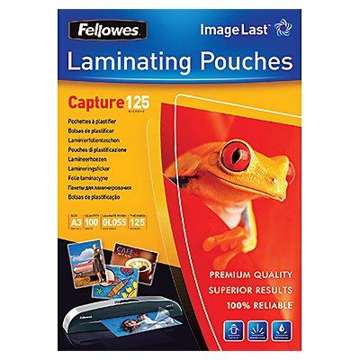 Fellowes Laminierfolie Capture 125 5307506 DIN A3 tr 100 St./Pack.