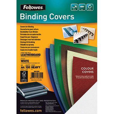 Fellowes Deckblatt Delta DIN A4 100 St./Pack.