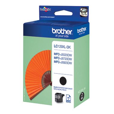 Brother Tintenpatrone LC129XLBK 2.400Seiten schwarz