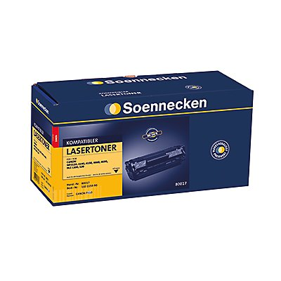 Soennecken Toner 80017 Gr.1176 wie Canon FX10 schwarz