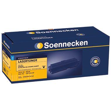 Soennecken Toner 85018 Gr.1303 wie Kyocera TK110 schwarz