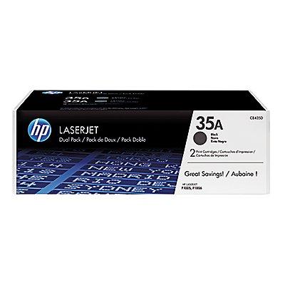 HP Toner CB435AD 35A 1.500Seiten schwarz 2 St./Pack.