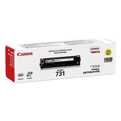 Canon Toner 731Y 6269B002 1.500Seiten gelb
