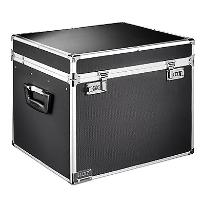 Leitz Hängebox 67140095 DIN A4 max. 30Mappen schwarz/chrom