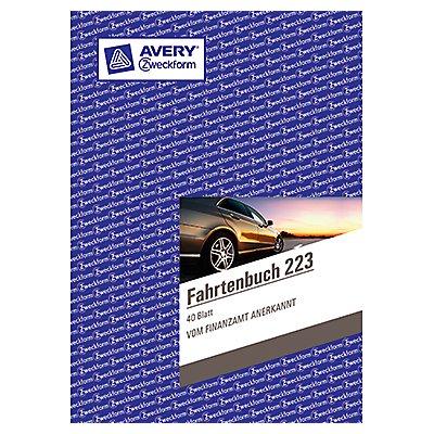 Avery Zweckform Fahrtenbuch 223 DIN A5 40Blatt