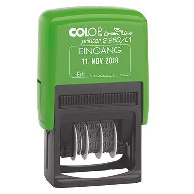 COLOP Datumsstempel Printer S260 Green Line