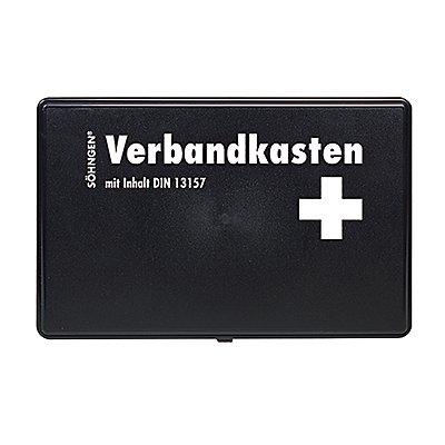 SÖHNGEN Erste Hilfe Kasten 3004002 KFZ DIN 13164 gefüllt schwarz