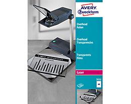 Avery Zweckform Inkjetfolie 3552 210x297mm transparent 100 St./Pack.