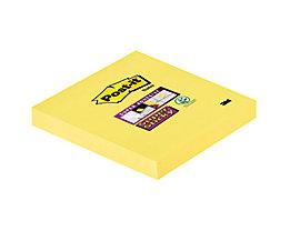 Post-it Haftnotiz Super Sticky 65412SY 76x76mm 90Bl gelb