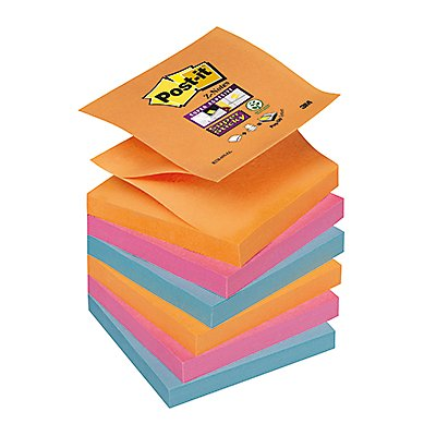 Post-it Haftnotiz Super Sticky Bangkok Coll. R3306SE 6 St./Pack.