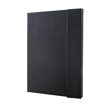 Sigel Notizbuch Conceptum  DIN A4 Hardcover  schwarz