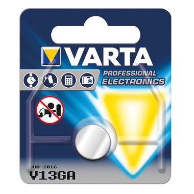 Varta Knopfzelle 04276101401 LR44 1,5V 125mAh Alkali-Mangan