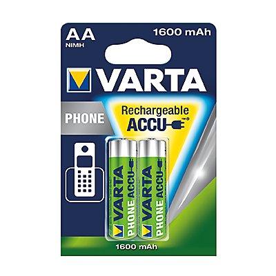 Varta Akku Phone Power 58399201402 AA Mignon HR6 1,2V 2 St./Pack.
