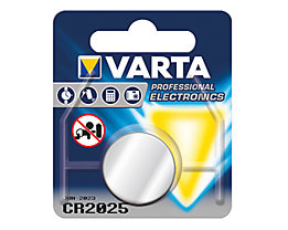 Varta Knopfzelle 06025101401 CR2025 3V 170mAh Lithium