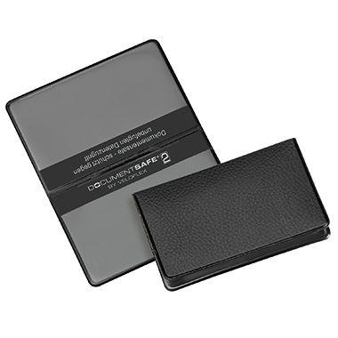 Veloflex Kartenhülle Documentsafe 3274800 93x59mm PVC schwarz