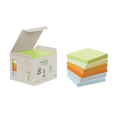 Post-it Haftnotiz Recycling Notes Pastel 6 St./Pack.