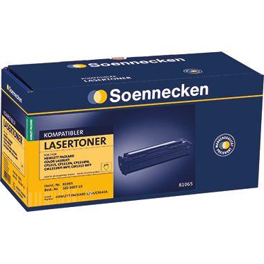 Soennecken Toner 81065 Gr.1216 wie HP CB542A gelb