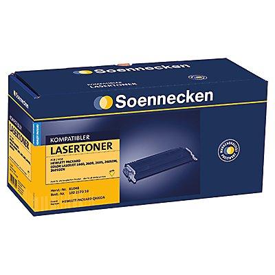 Soennecken Toner 81048 Gr.1203C wie HP Q6002A gelb