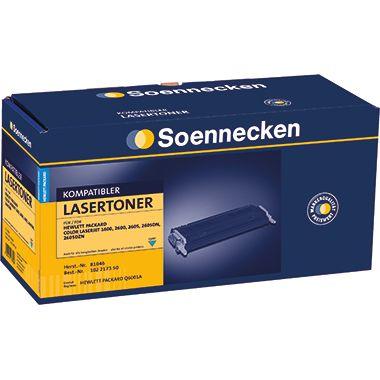 Soennecken Toner 81050 Gr.1204C wie HP Q7581A cyan