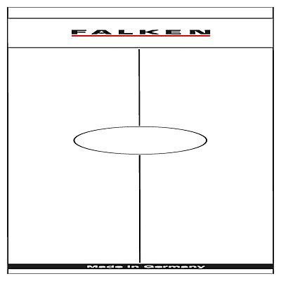 Falken Ordnerrückenschild 11287075 50mm weiß 10 St./Pack.