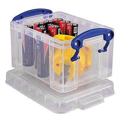 Really Useful Box Aufbewahrungsbox 0.3C 12x6,5x8,5cm 0,3l tr