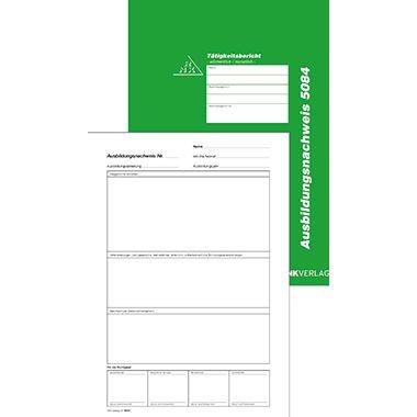 RNK Ausbildungsnachweis 5084 DIN A4 28Bl. wöchentliche Eintragung