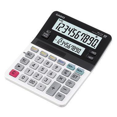 CASIO Tischrechner MV-210-S-EH 10stellig Dual Display schwarz/weiß