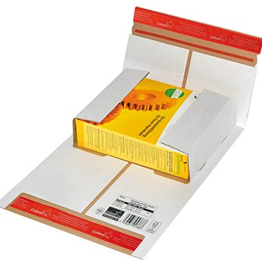 ColomPac Versandkarton Flexi-Box CP037.52 250x190x92mm weiß