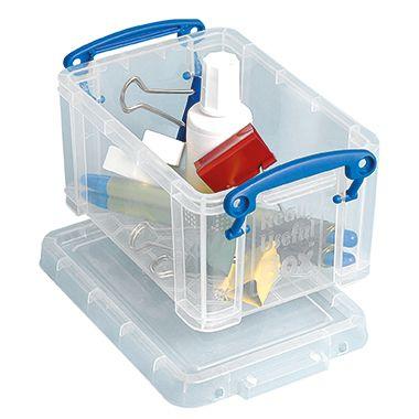 Really Useful Box Aufbewahrungsbox 0.7C 15,5x10x8cm 0,7l tr