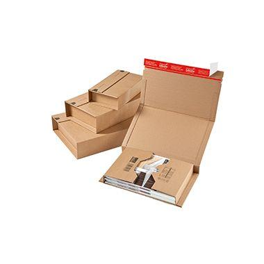 ColomPac Versandkarton Universal CP020.12 32,5x8x25cm braun