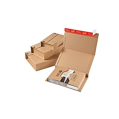 ColomPac Versandkarton Universal CP020.14 33x8x27cm braun