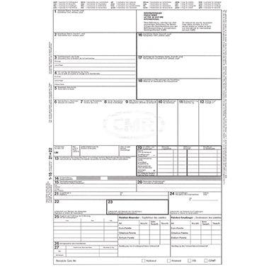 RNK Frachtbrief CMR 2100 DIN A4 4teilig SD