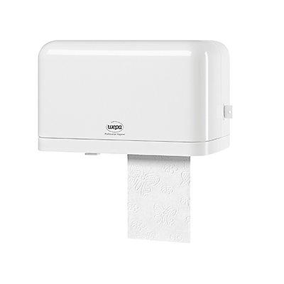 WEPA Toilettenpapierspender 331080 27,0x16,3x14,7cm Kunststoff weiß