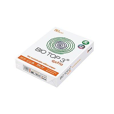 Mondi Kopierpapier BIO TOP 3 extra 88008658 DIN A4 weiß 500 St./Pack