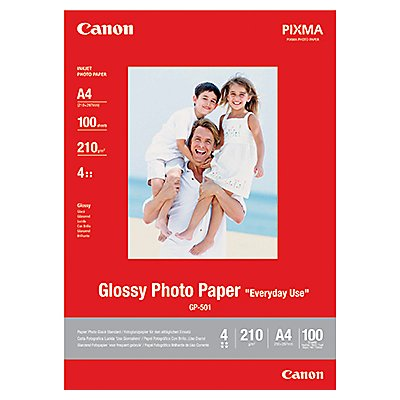 Canon Fotopapier GP501 0775B001 DIN A4 210g weiß 100 Bl./Pack.