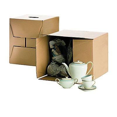 Umzugskarton Cargo Box S 400x320x320mm braun