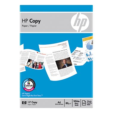 HP Kopierpapier Copy Paper CHP910 DIN A4 80g weiß 500 Bl./Pack.