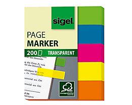 Sigel Haftmarker HN615 50x60mm farbig sortiert 5 St./Pack.
