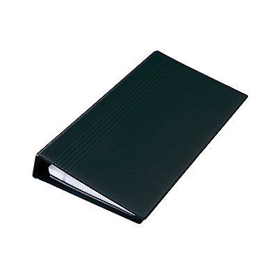 Sigel Visitenkartenringbuch VZ300 max. 200Karten 25Hüllen schwarz