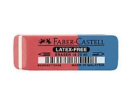 Faber-Castell Radierer 187040 18x8x54mm Kautschuk rot/blau