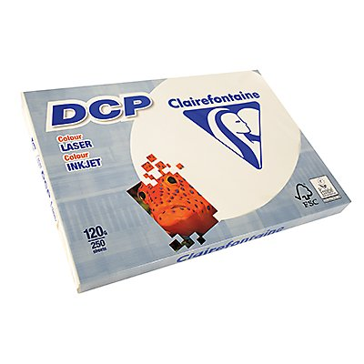Clairefontaine Farblaserpapier DCP  DIN  120g el 250 Bl./Pack.