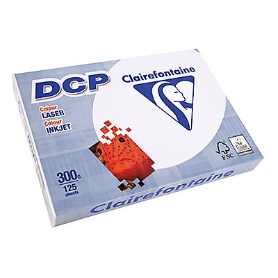 Clairefontaine Farblaserpapier DCP  DIN  300g ws 125 Bl./Pack.