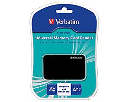 Verbatim Kartenleser 47264 USB Card Reader Universal