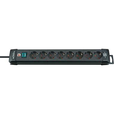 brennenstuhl Steckdosenleiste Premium-Line 1951180100 8fach sw