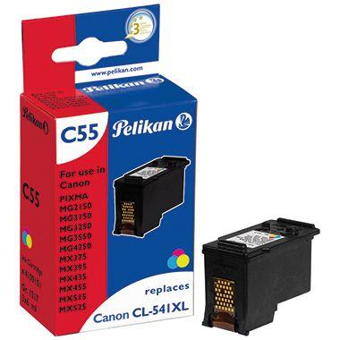 Pelikan Tintenpatrone 4109101 C55 wie Canon CL541XL farbig