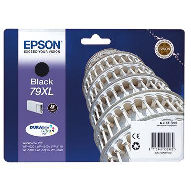 Epson Tintenpatrone C13T79014010 Nr.79XL 2.600Seiten schwarz